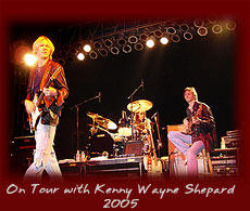 On Tour with Kenny Wayne Shepard